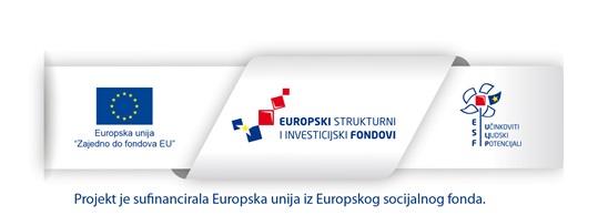 Projekt je sufinancirala Europska Unija iz Europskog socijalnog fonda.